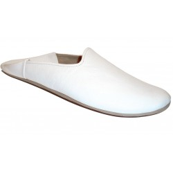 BABOUCHE HOMME ROYALE BLANC