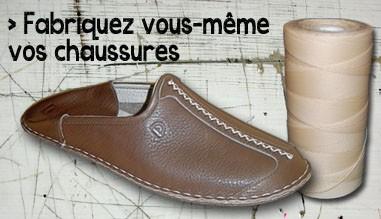 Fabriquez vous-même vos chaussures